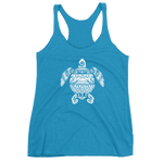 Load image into Gallery viewer, Tribal Sea Turtle Women's Racerback Tank