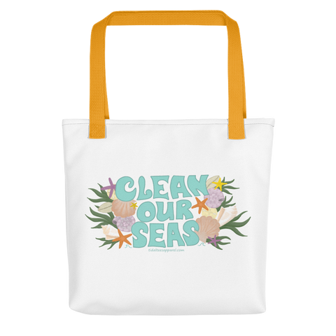 Clean Our Seas Tote Bag