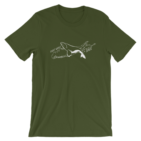 Right Whale LI Unisex T-Shirt