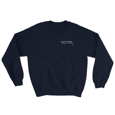 Manta Crewneck (Front and Back)