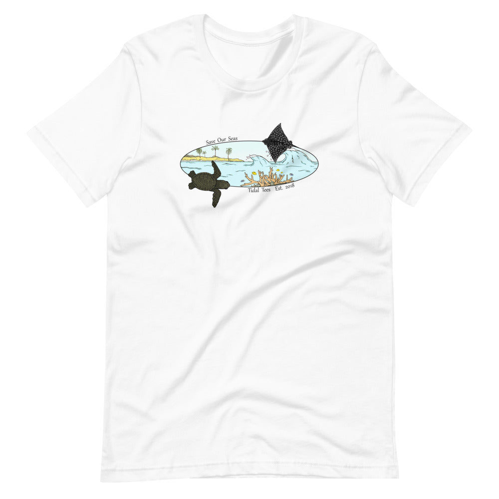 Reef Unisex T-Shirt (color)