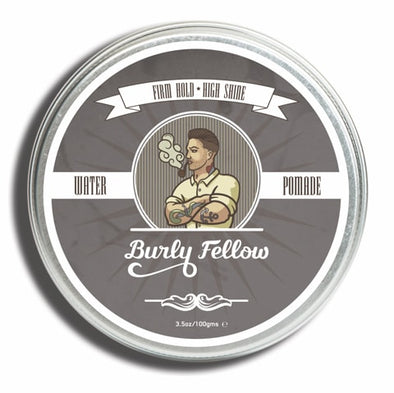 Burly Fellow Water Pomade 100ml top view