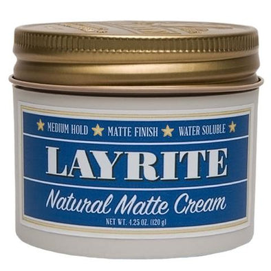 Layrite Natural Matte Cream Pomade 120ml