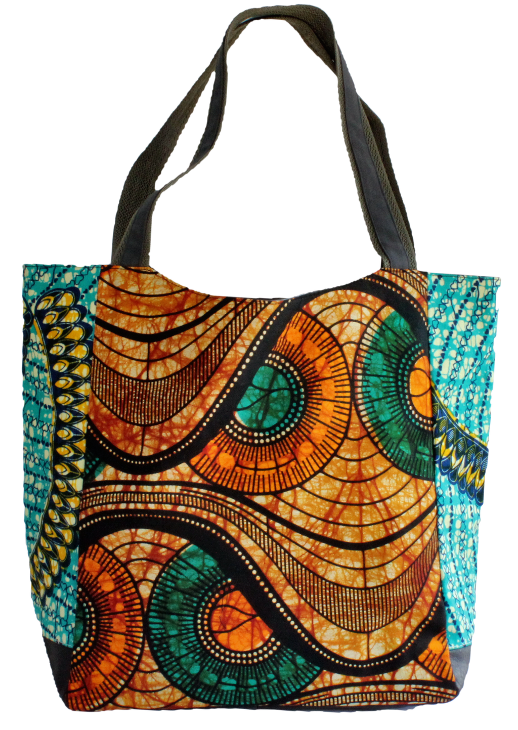 Handmade tote bag, upcycled, African print, Kitenge fashion, Ankara fashion, shopping bag