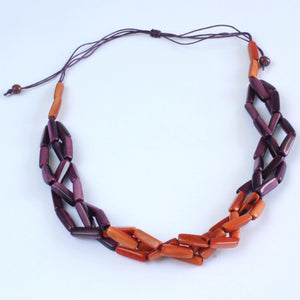 Necklace Sustainable Tagua Nut - Andes