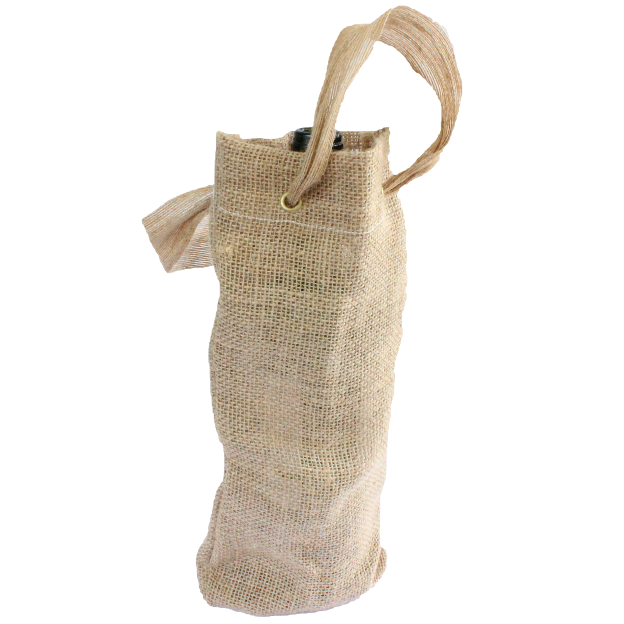 Wine bag, jute, gift, wine carrier