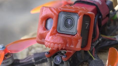Gopro Skull Mount for Xhover Stingy V2 frame