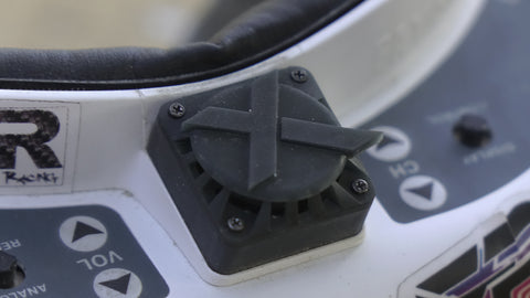 Xhover fan guard for Fatshark FPV goggles