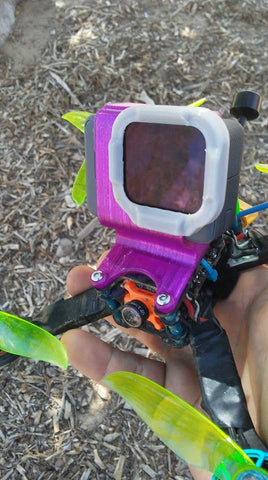 "GoPro Hero ""SideKick"" for Skitzo Dark Matter"