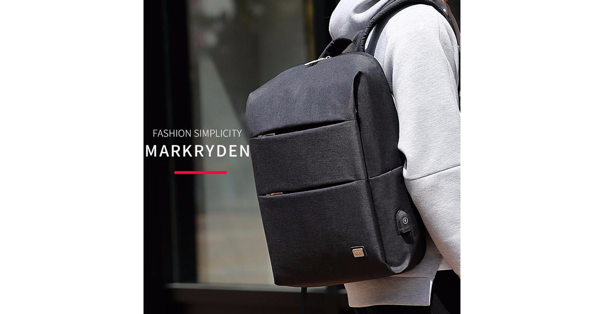 Mark Ryden USB Charging 15.6 Inches Laptop Waterproof Backpack
