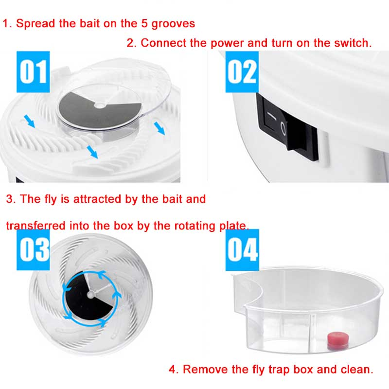 Electric  Fly Killer Trap