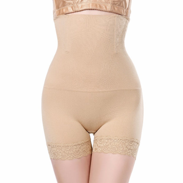 High-Waist Shaping Shorts - Plus Size