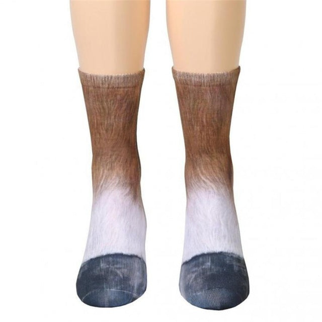 Adult Animal Paw Socks