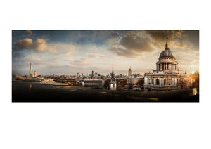 ST PAUL'S and South London Skyline