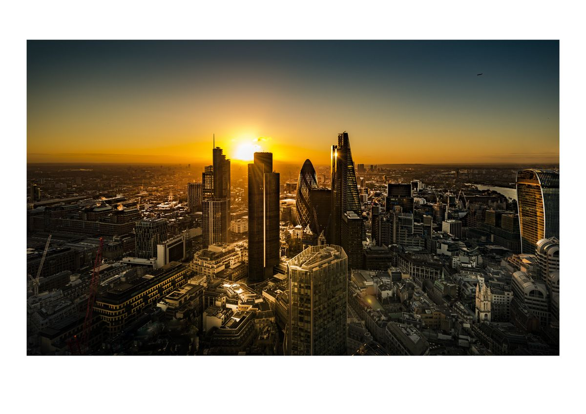 LONDON CITY SUNRISE #2