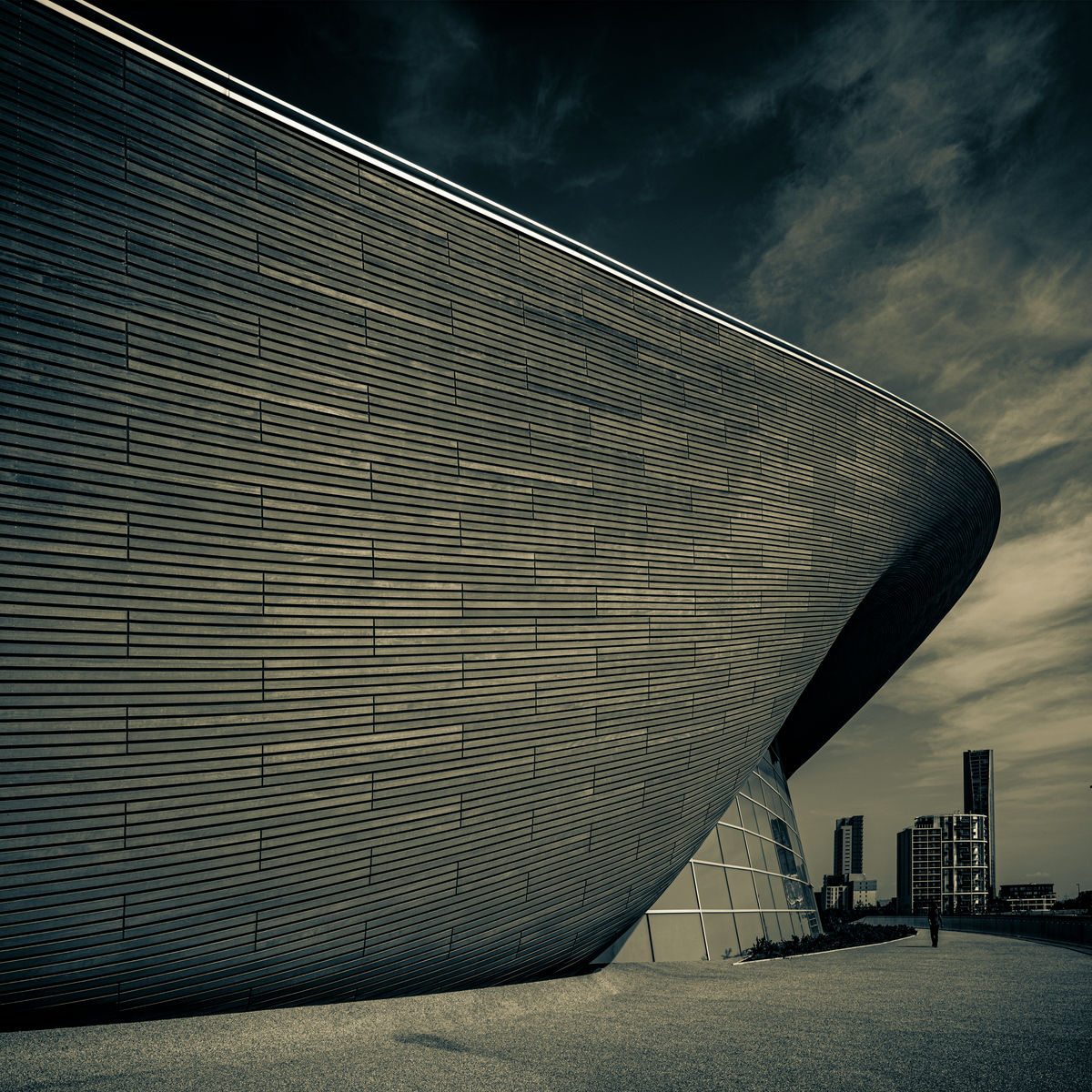 THE LONDON AQUATIC CENTRE