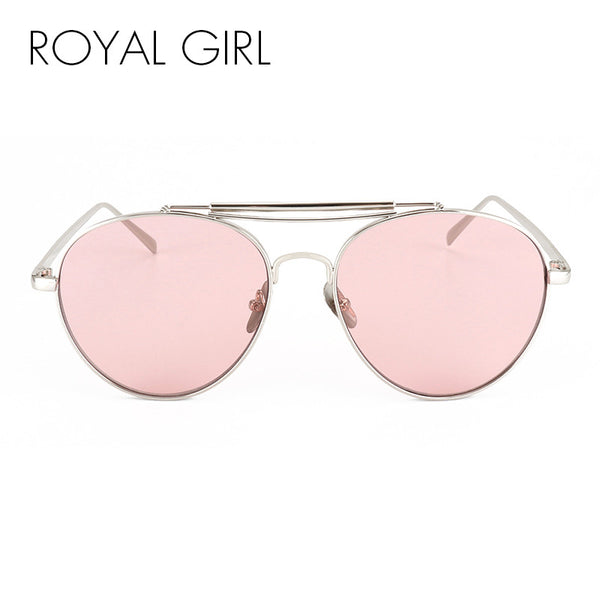 Women Shades Retro Flat Top Round Design Vintage Female Sun Glasses feminino ss060 - 7Anthony