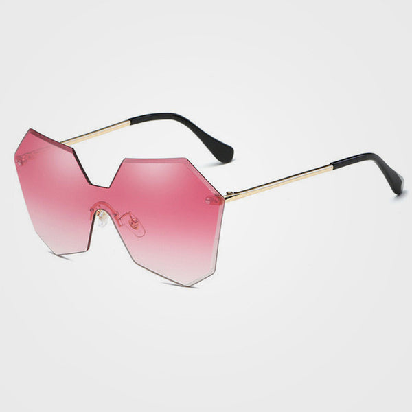 ROYAL GIRL New Fashion Brand Designer Luxury Rimless Gradient Lenses Glasses ss121 - 7Anthony