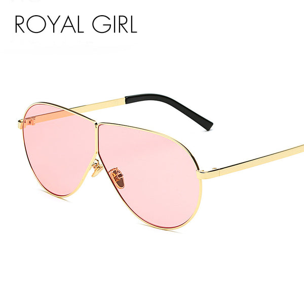 Retro Metal Women Sunglasses Oversize Mirrored Vintage Sunglasses ss648