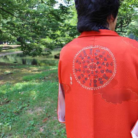 <TUTAE> Haori1009  vermilion with clouds