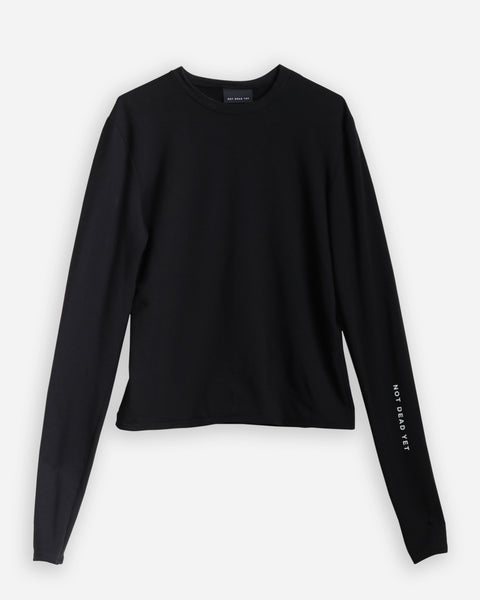 LONG SLEEVE TOP - SHOP NOT DEAD YET