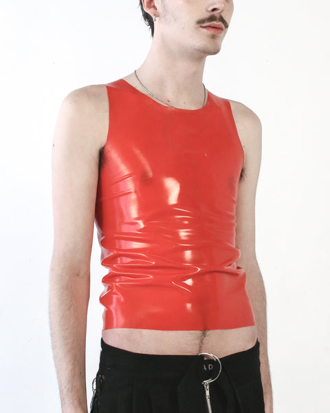 TANK TOP IN RED - SHOP NOT DEAD YET