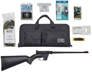 HENRY SURVIVAL RIFLE W/PACK