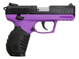 RUGER SR-22 .22LR PURPLE/BLACK