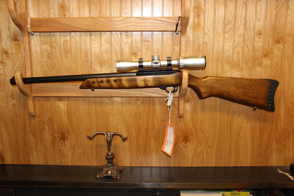 RUGER 10/22 BULL BBL W/SCOPE