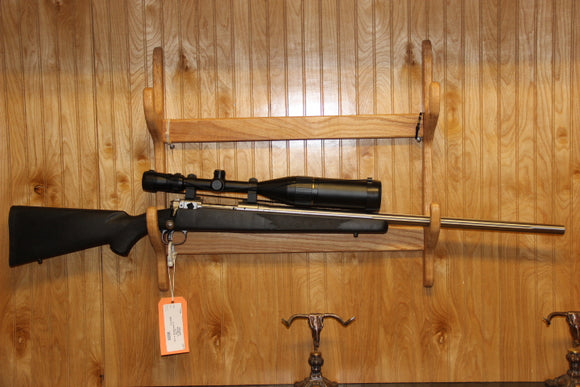 SAVAGE MODEL 12  22-250 W/SCOP