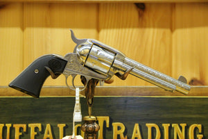 "Ruger New Model Vaquero 5 1/2"" 45 Colt engraved"