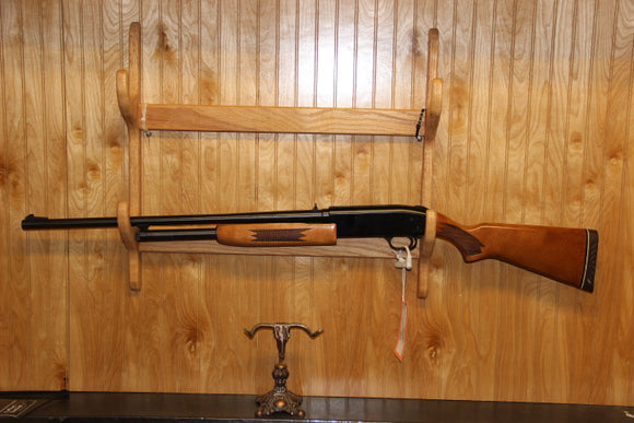 MOSSBERG 500C BLUE/WOOD