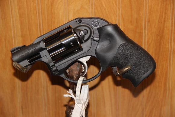 RUGER LCR 9MM BLACK/HOGUE GRIP