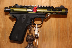 RUGER 22/45 LITE BLAC/GREEN
