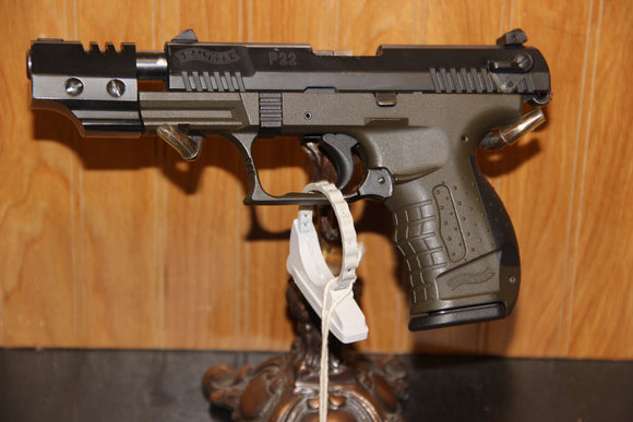 WALTHER P22 COMPENSATED