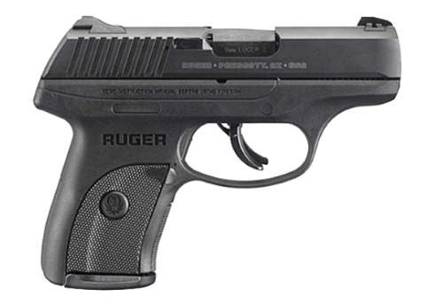 RUGER LS9S  9MM BLACK