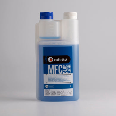 Cafetto MFC Blue Milk Frother Cleaning Liquid
