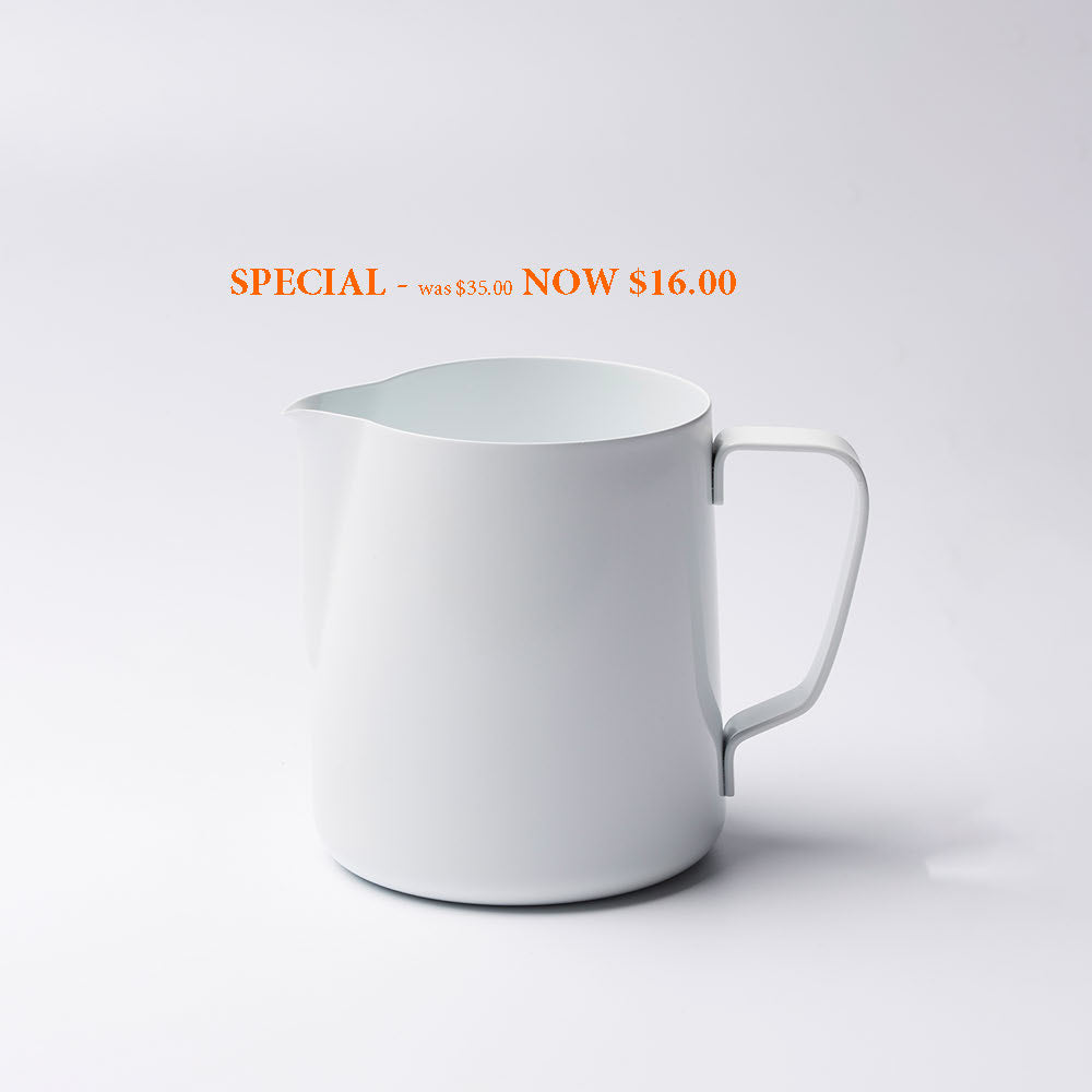 SPECIAL - Barista Ace Coloured Milk Jug 350ml