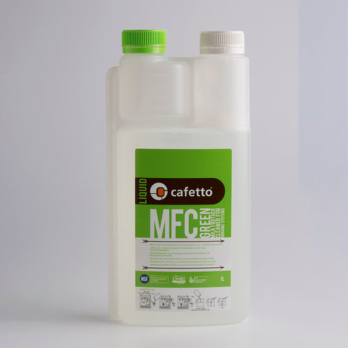 Cafetto MFC Green Milk Frother Cleaning Liquid