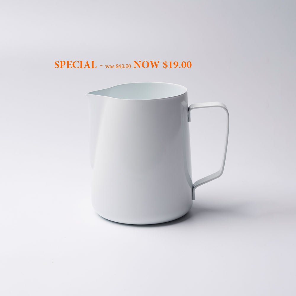SPECIAL - Barista Ace Coloured Milk Jugs 600ml
