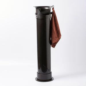 Crema Pro Knock Bin with carabiner & cloth