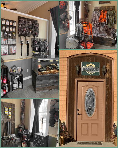 huntsmen store collage