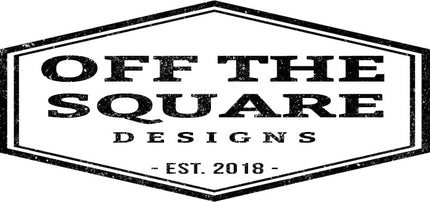 Off The Square Designs creates one of a kind home décor and hand panted wooden wall signs.