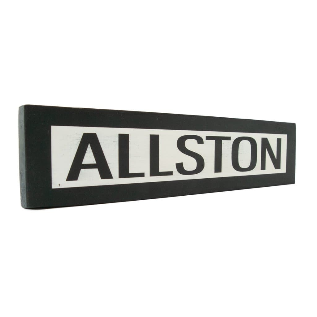 Allston - One Way - Wall Décor - Wood Sign