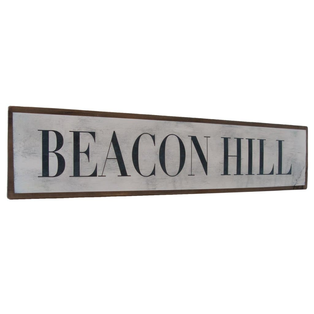 Beacon Hill - Wall Décor - Wood Sign