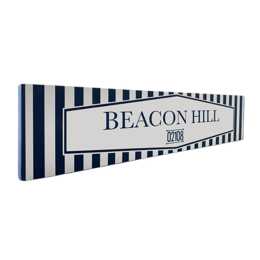 Beacon Hill - Off The Square - Wall Décor - Wood Sign