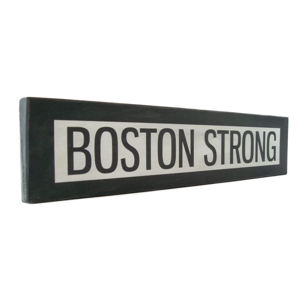 Boston Stong - One Way - Wall Décor - Wood Sign