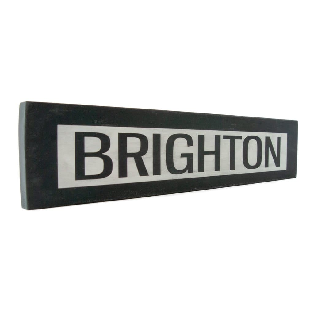 Brighton - One Way - Wall Décor - Wood Sign