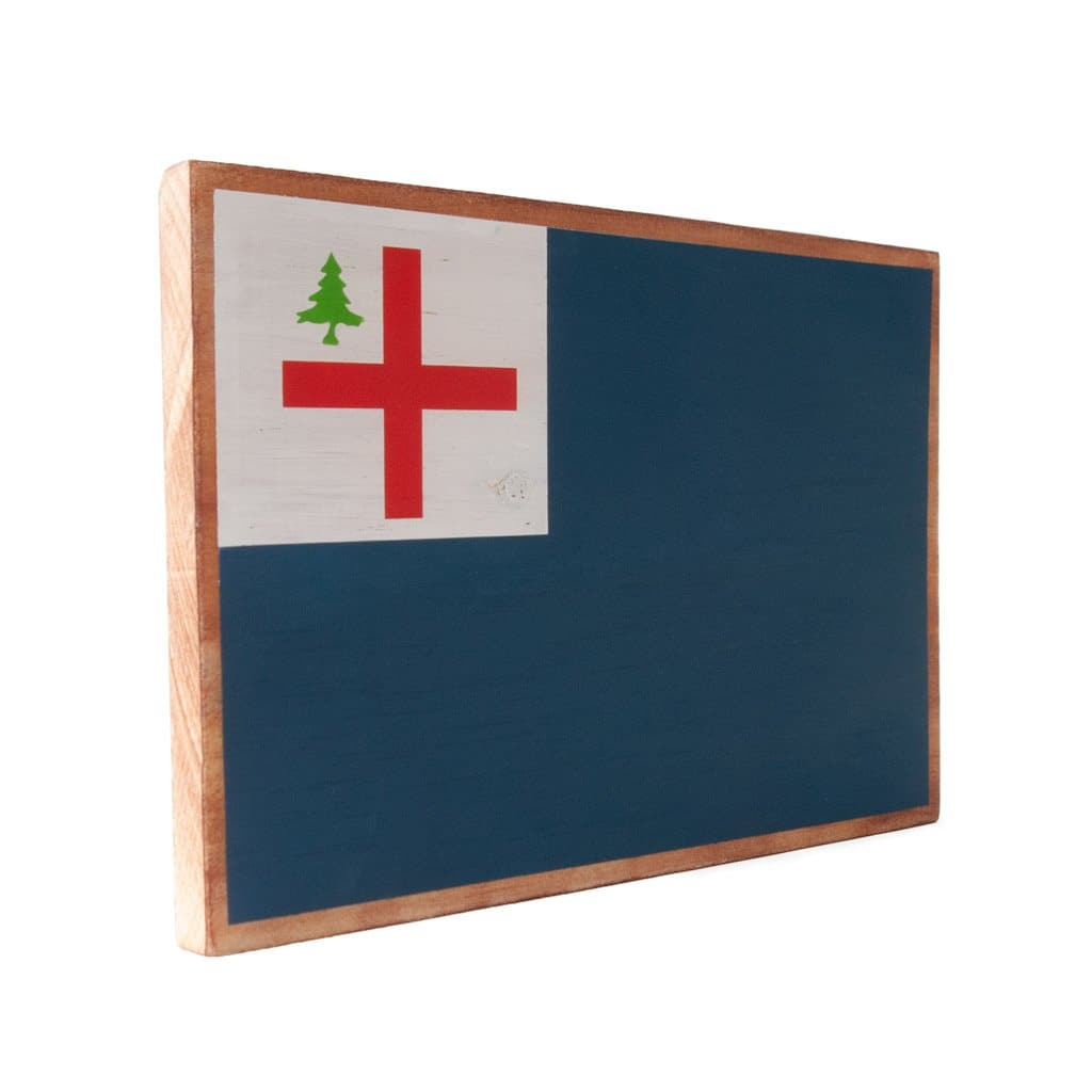 Charlestown - Bunker Hill Flag - Wall Décor - Wood Sign