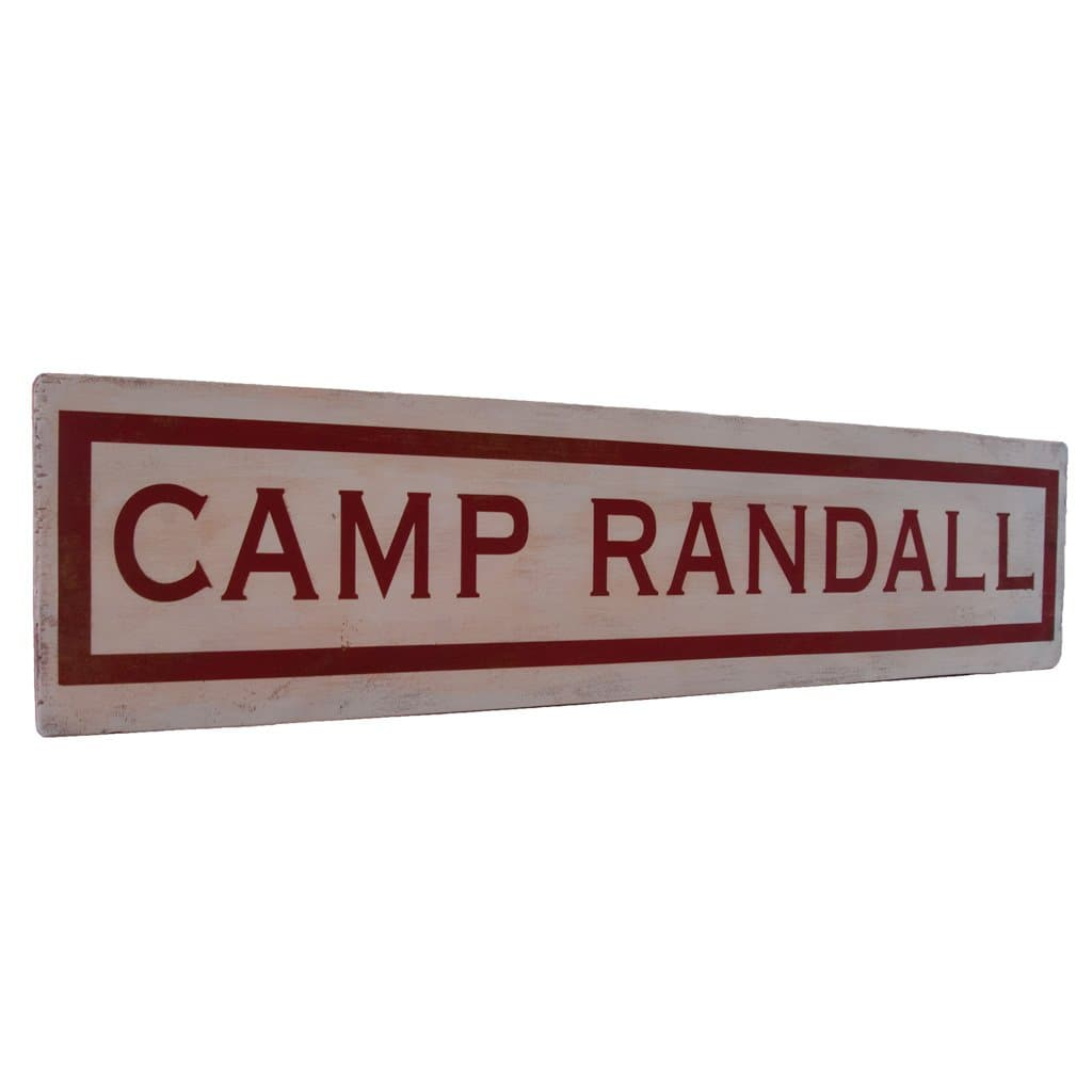 Camp Randall - Wall Décor - Wood Sign